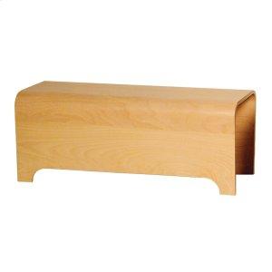 Aeri ebony wood bench. Product Image