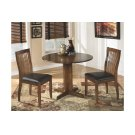 Round Drop Leaf Table with 4 Chairs Product Image