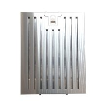 Stainless Steel, Low Resistance Pro Baffle Filter. Dishwasher safe cleaning. Standard on models XOI33, XOI45, XOT and XOT18. Can be used on models XOJ, XOM, XOP, XOQ, XOS, XOV as an optional upgrade.