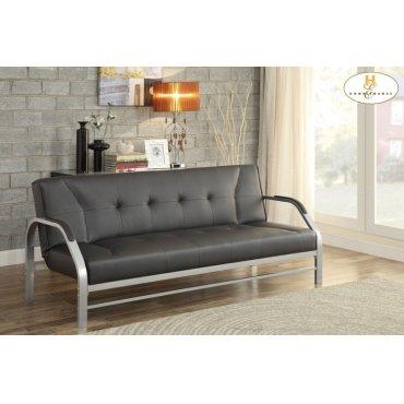 Elegant Lounger Sofa: 75 x 32.5 x 32.25H Bed: 75 x 41.75 x 23.5H