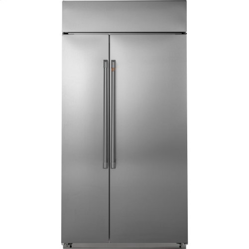 "Café 48"" Built-In Side-by-Side Refrigerator"