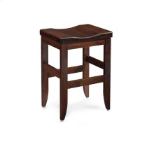 Bowen Stationary Barstool, Fabric Cushion Seat