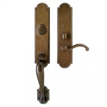 """Arched Entry Set - 3"""" x 20"""" Silicon Bronze Brushed"""