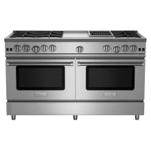 "60"" RNB Series Range with 12"" Griddle & Charbroiler"