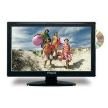 "Polaroid 22"" LCD TV w/DVD Combo - Black"