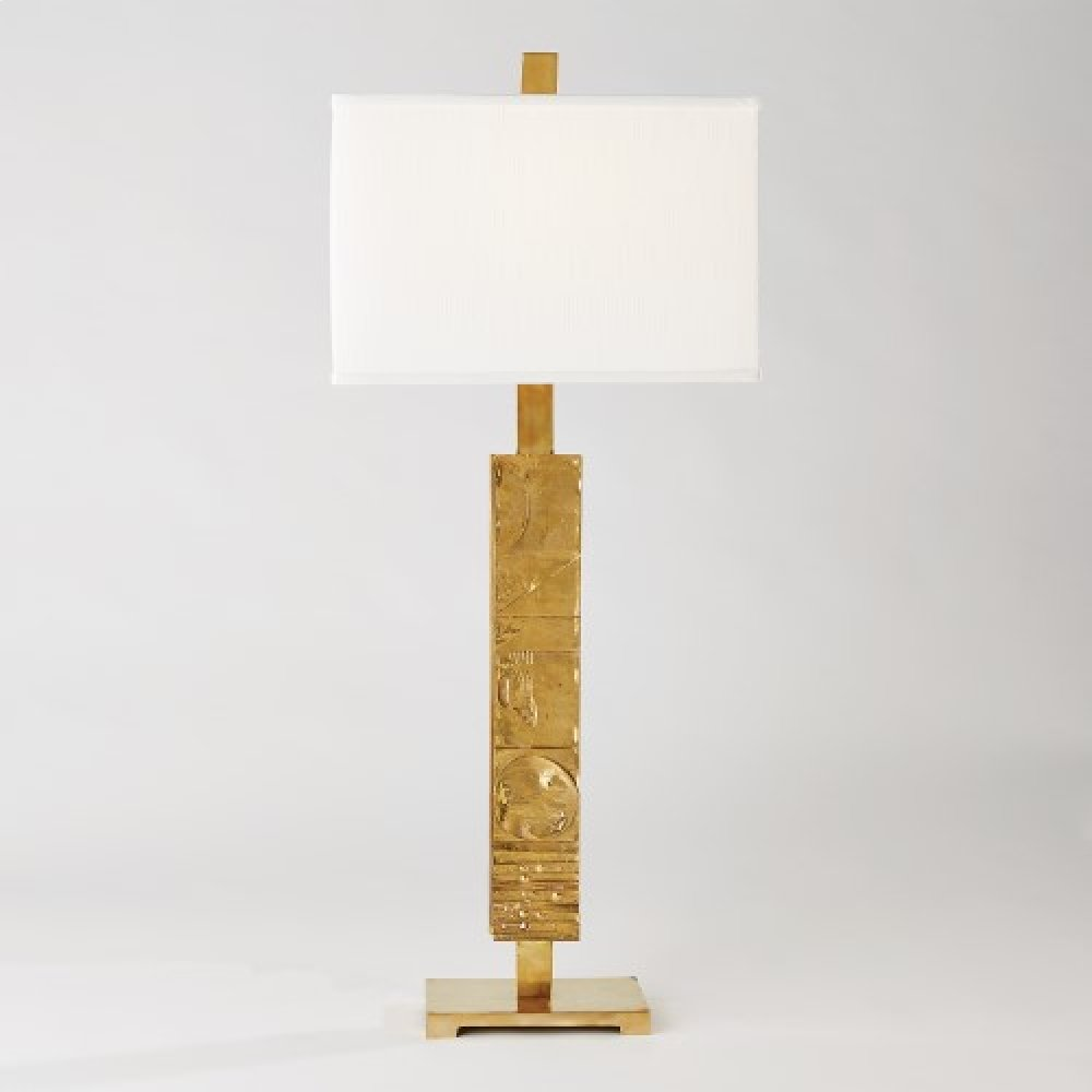 Pimlico Table Lamp-Brass