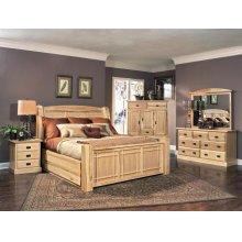 Queen Arch Storage Bed