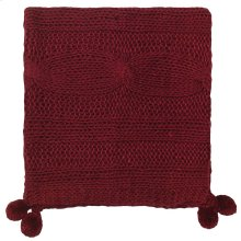 Felicity Throw, BURGUNDY, THRW