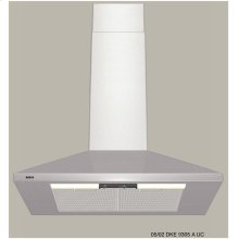 "300 Series Pyramid Canopy 30"" Wall Mount Chimney Hood DKE9305AUC"
