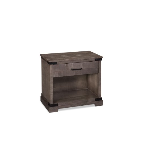 Montauk Nightstand with Opening, Extra Wide