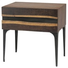 Prana Side Table  Seared