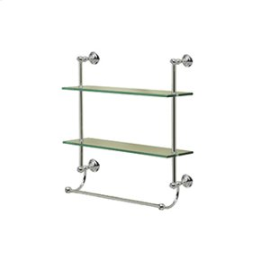 Kingston Two Tier Shelf With Towel Bar Product Image