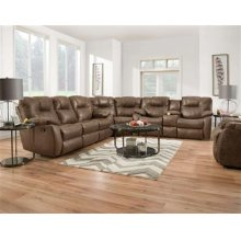 Reclining Sectional - Mocha or Charcoal