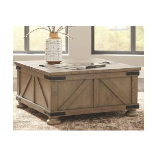 Aldwin Cocktail Table w/ Storage