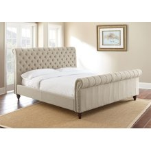 "Swanson King Sand Upholstered Headboard 84"" x53"" x10"""