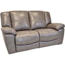 Power Reclining Love Seat in Montgomery-Gray