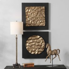 Boaz Metal Wall Decor, S/2