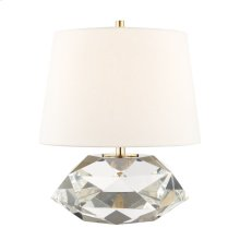 Table Lamp - AGED BRASS
