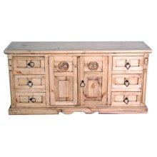 San Gabriel Dresser W/star