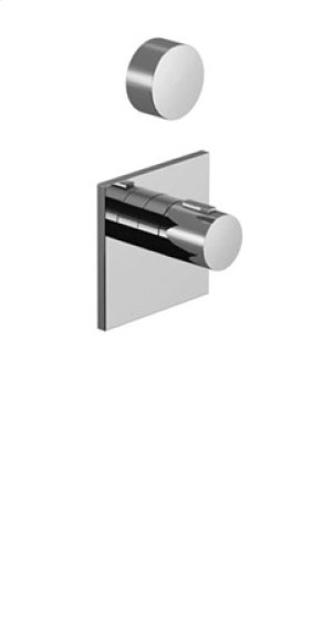 xTOOL thermostat with one volume control - chrome Product Image