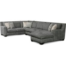 7K00N-Sect Luckenbach Sectional with Nails