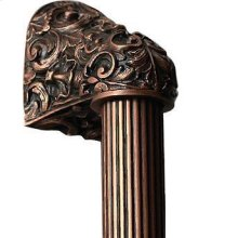 Acanthus - Antique Copper Fluted Bar