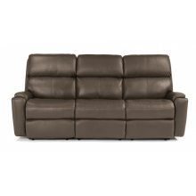 Rio Leather Reclining Sofa