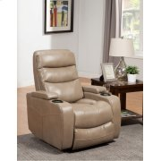 Genesis Linen Power Home Theater Recliner Product Image