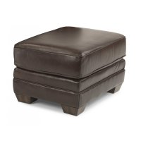 Harrison Leather Ottoman Product Image