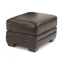 Harrison Leather Ottoman