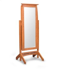Aspen Jewelry Cheval Mirror with Inlay