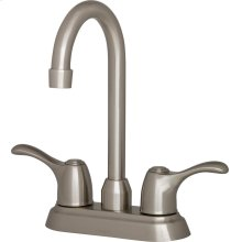 Stainless Steel While Supplies Last - Allerton Two Handle Centerset Bar Faucet 1.75GPM