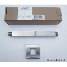 """AB8SC 8"""" Square Ceiling Mounted Brushed Nickel Shower Arm for Rain Shower Heads"""
