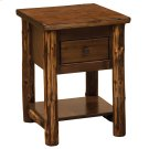 One Drawer Nightstand - Modern Cedar Product Image