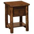 One Drawer Nightstand - Modern Cedar Product Image
