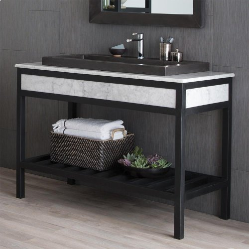 "48"" Cuzco Vanity in Brushed Nickel"