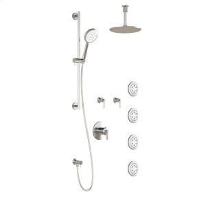 Thermostatic Shower Kit (valves Not Included) - Chrome Product Image