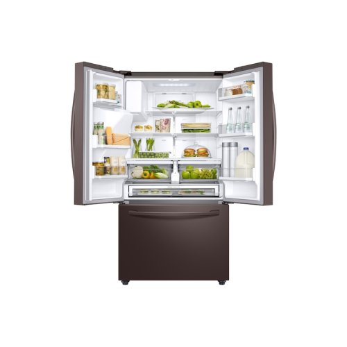 23 cu. ft. Counter Depth 3-Door French Door Refrigerator with CoolSelect Pantry in Tuscan Stainless Steel