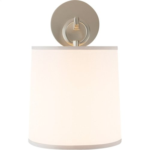 Visual Comfort BBL2035SS-S Barbara Barry French Cuff 1 Light 8 inch Soft Silver Decorative Wall Light