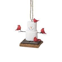 S'mores Cardinals Ornament