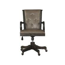 Fully Upholstered Swivel Chair