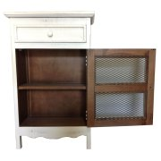 Cabinet W/mesh Front Product Image