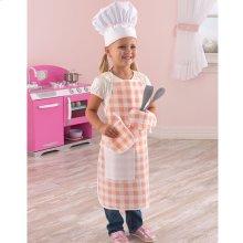 Tasty Treats Chef Accessory Set - Pink
