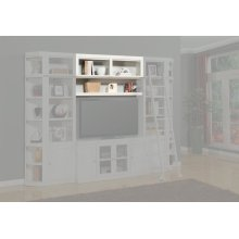 Boca 56 in. Bookcase Bridge, Shelf and Back panel