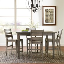 Vogue - Counter Height Dining Table - Gray Wash Finish