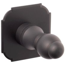 Robe Hook 6107 with 1408 Rosette
