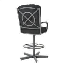 Crescent Swivel Tilt Barstool