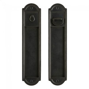 Pocket Door Lock - FP025 Silicon Bronze Brushed Product Image