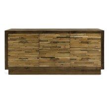 Caledonia 6-Drawer Reclaimed Pine Wood Dresser