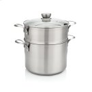 Frigidaire ReadyCook 8 qt Stockpot with Steamer and Lid Product Image